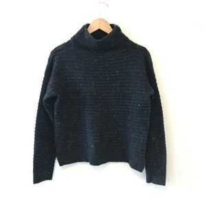 Madewell Donegal Belmont Mockneck Sweater Small